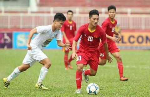 U21 HAGL 0-0 U21 Việt Nam phút 4