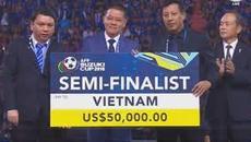 """Việt Nam có thể """"đi tong"""" tiền thưởng hạng ba AFF Cup"""