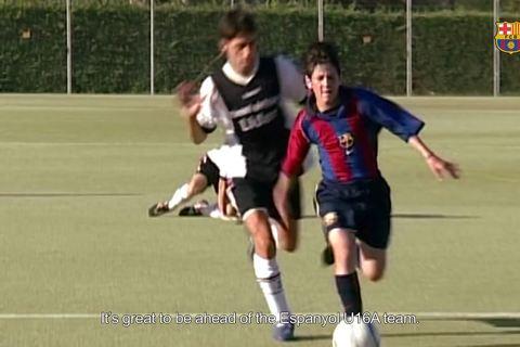 Tung clip độc về Messi, Barca khiến fan thích thú