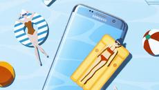 Chuyến phiêu lưu kỳ thú của đại gia đình Galaxy S7 edge