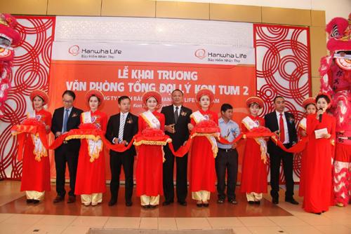 Hanwha Life VN khai trương 2 tổng đại lý tại Kon Tum - ảnh 2