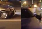Tài xế Camry gây tai nạn bỏ chạy, dân bức xúc đuổi đánh