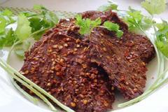 Cách làm thịt bò khô từ thịt lợn ngon như thật, ăn mãi không chán