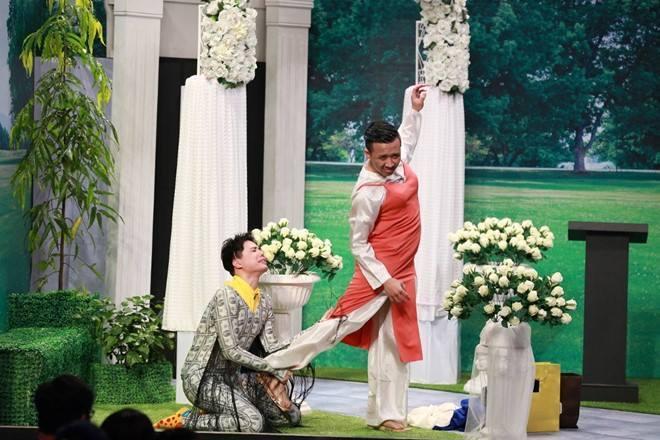 Trịnh Thăng Bình 'bóc mẽ' Trấn Thành: '3D mà vẫn lấy được vợ!'