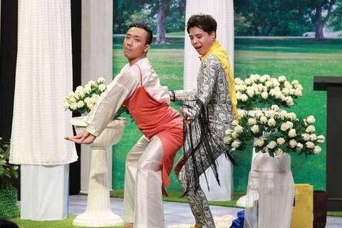 Trấn Thành bị khách mời 'bóc mẽ' : '3D mà vẫn lấy được vợ'