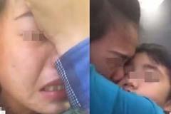 Vợ khóc nấc livestream nói con trai 6 tuổi bị chồng cũ và mẹ chồng đuổi ra đường
