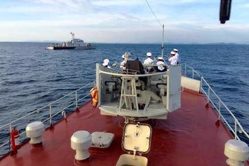 Hải quân VN tuần tra chung với Hải quân Campuchia