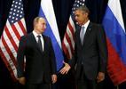 Bộ ảnh lột tả thăng trầm quan hệ Putin, Obama