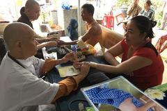 Quá tải bệnh nhân ở 'ngôi chùa giúp nhiều người thoát án tử'