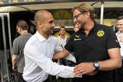 Klopp khen Guardiola dũng cảm khi tiếp quản Man City