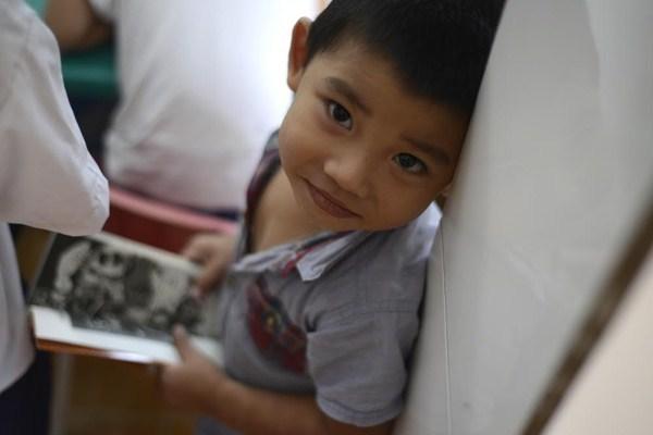 Lớp học giữa Sài Gòn của các cô cậu bé không biết mùi học thêm - ảnh 7