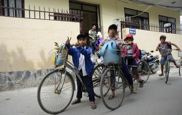Lớp học giữa Sài Gòn của các cô cậu bé không biết mùi học thêm - ảnh 10