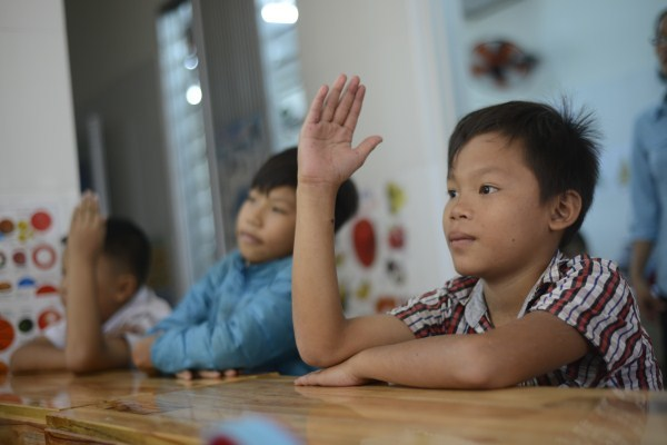 Lớp học giữa Sài Gòn của các cô cậu bé không biết mùi học thêm - ảnh 4