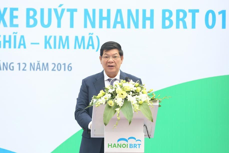 Hà Nội khai trương tuyến buýt nhanh đầu tiên