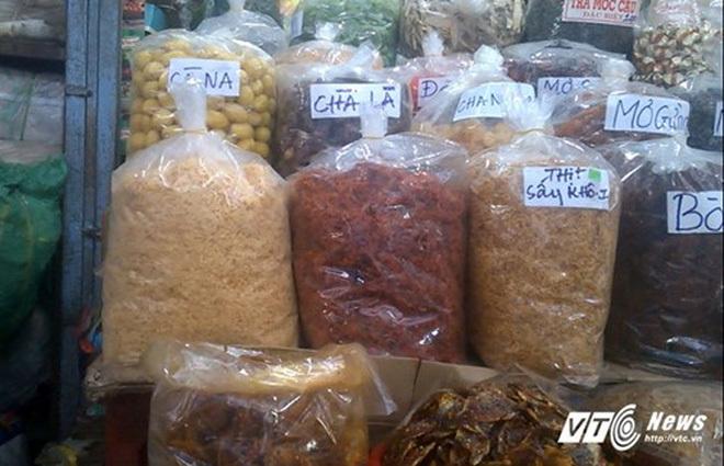 chà bông, ruốc thịt, thịt lợn, thực phẩm bẩn, thịt bẩn, thực phẩm tết