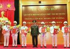 Công bố quyết định của Chủ tịch nước thăng cấp bậc hàm cấp Tướng trong CAND