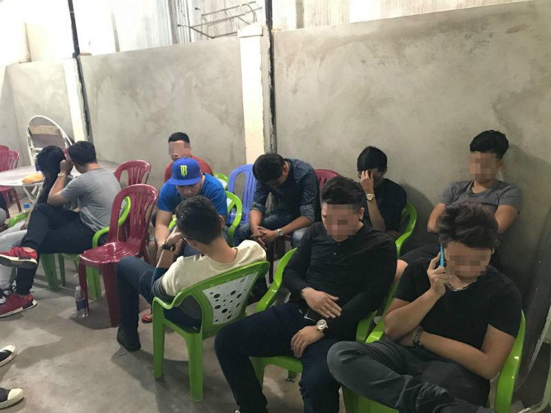 Thiếu gia thuê biệt thự đãi tiệc ma túy ở Sài Gòn