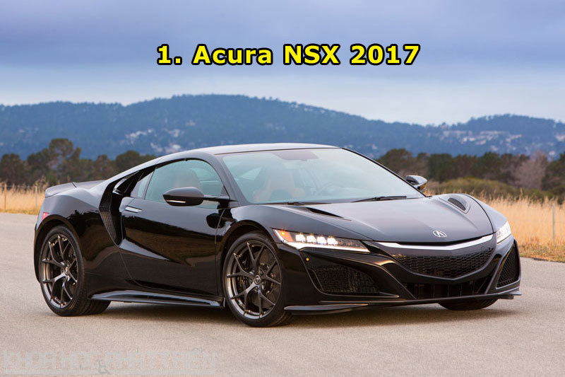 Top 10 xe hơi đẹp nhất năm 2016