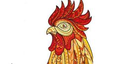 Chú gà Đinh Dậu hứa hẹn cho sức khỏe