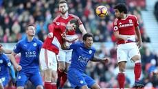 ĐKVĐ Leicester hòa hú vía trận đầu năm 2017