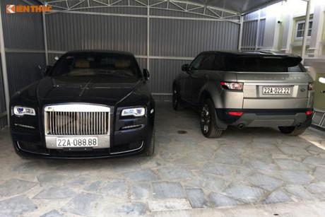 Rolls-Royce Ghost 27 tỷ biển 'tứ quý' 8 tại Tuyên Quang