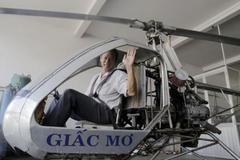 Kỹ sư Bình Dương chế trực thăng mơ làm máy bay không người lái
