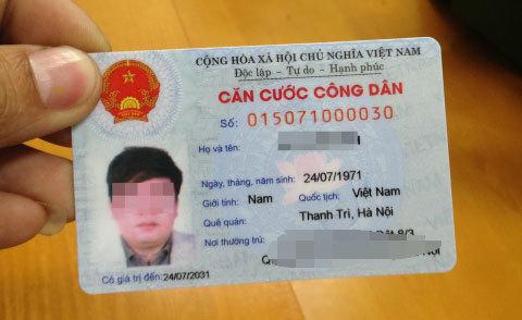 Ra đường quên mang thẻ căn cước: phạt ra sao?