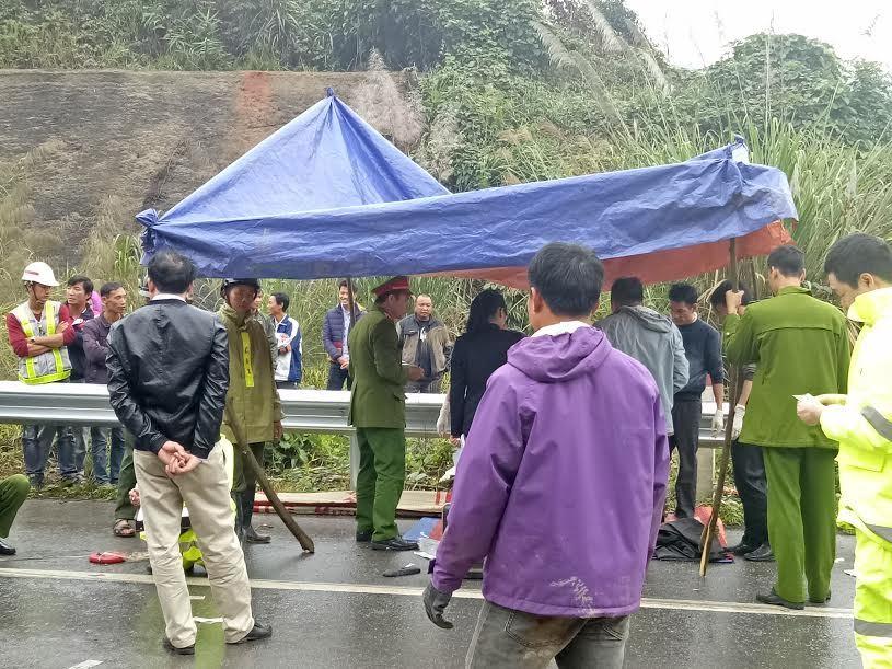 Giám đốc tử nạn trên cao tốc Hà Nội - Lào Cai