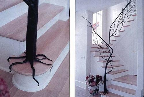 Những ý tưởng trang trí cầu thang đẹp và cực mới lạ