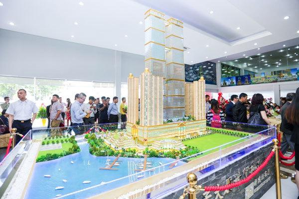 Trung Quốc xây tháp đôi kỷ lục ở Campuchia: Tham vọng chưa dừng lại