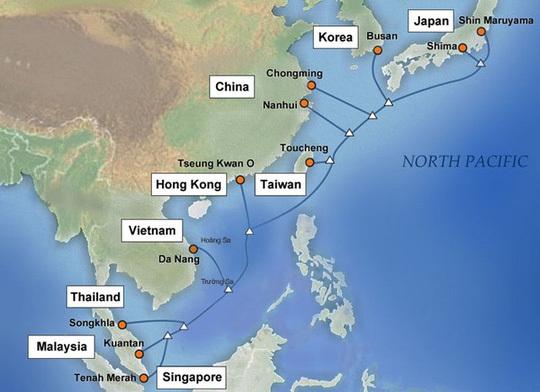 Việt Nam nối tuyến cáp quang biển nhanh và ổn định hơn AAG