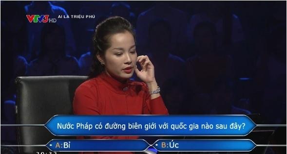 Câu hỏi 'Ai là triệu phú' bất ngờ làm khó diễn viên Minh Hương