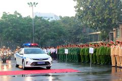 Ra quân năm ATGT 2017 và đảm bảo trật tự dịp Tết