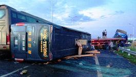 Tài xế xe giường nằm vụ tai nạn cao tốc đang nguy kịch