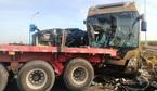 Hiện trường vụ tông xe liên hoàn trên cao tốc Long Thành