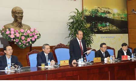 Phó Thủ tướng Trương Hòa Bình, tai nạn giao thông, ùn tắc giao thông, an toàn giao thông, nhà cao tầng nội đô