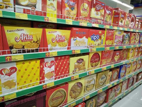 Mùa Tết, bánh kẹo Việt toàn thắng trên 'mặt trận' siêu thị