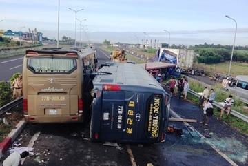 Nạn nhân tai nạn trên cao tốc: 'Thật may tôi vẫn còn sống…'