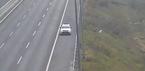 Lái xe taxi chạy ngược chiều trên cao tốc bị phạt 7 triệu