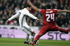 Ronaldo vắng mặt, James Rodriguez giúp Real thắng to