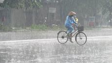 Miền Bắc chiều nay mưa rào