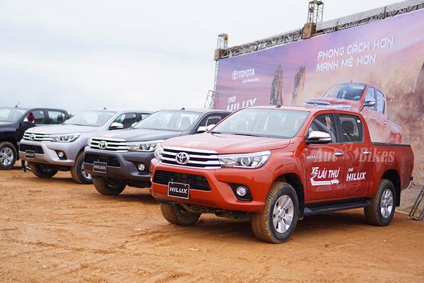 Hé lộ 5 xe bán tải bán chạy nhất Việt Nam năm 2016