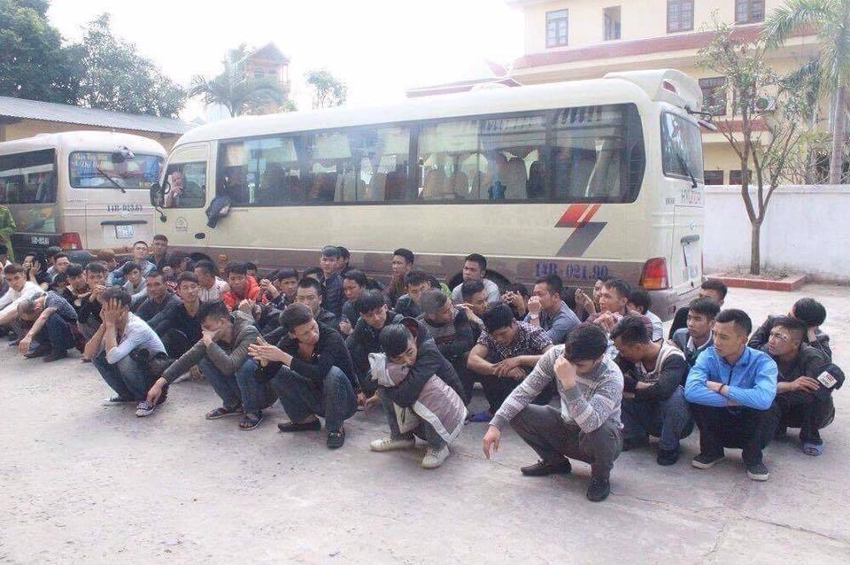 Ngăn chặn gần 80 thanh niên xuống Móng Cái gây án