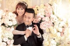 Trấn Thành tung trọn bộ ảnh cưới với Hari Won