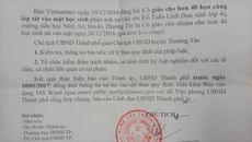 Chủ tịch Nguyễn Đức Chung yêu cầu làm rõ vụ cô giáo để 42 bạn tát 1 HS