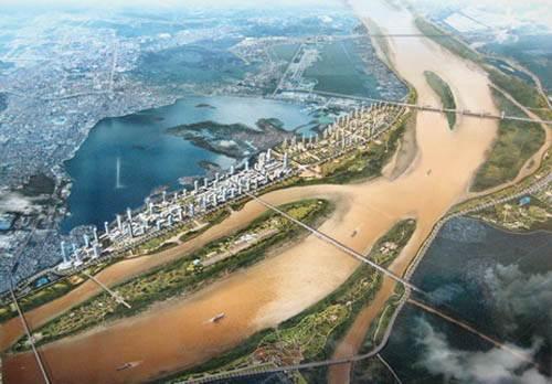 Chủ tịch Hà Nội làm trưởng ban chỉ đạo lập quy hoạch đô thị sông Hồng