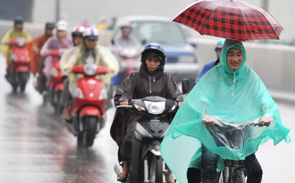 Miền Bắc sắp mưa to diện rộng