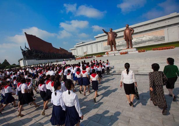 Ảnh hiếm về ngày cuối tuần của dân Triều Tiên