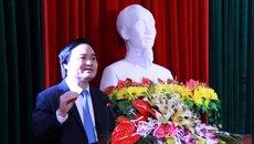 """Bộ trưởng Phùng Xuân Nhạ: """"Nếu không nhanh chóng, sẽ thua ngay trên sân nhà"""""""