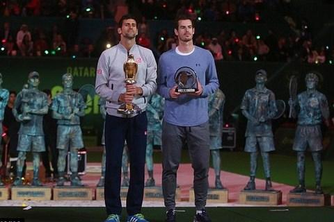 Đánh gục Murray, Djokovic đăng quang Qatar Open